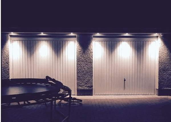 external garage lighting