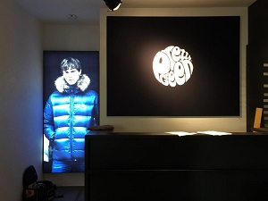 lighting installation in Pretty Green