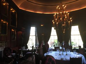 Prestonfield House lighting installation