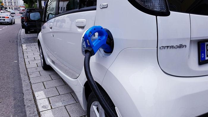 EV charger Edinburgh